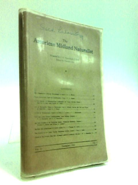 The American Midland Naturalist Vol.36 No.3 by Just, Theodor (Ed.)