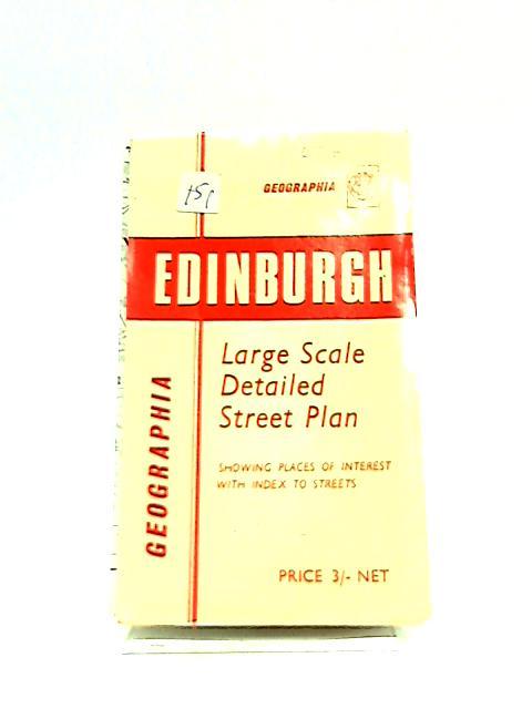Geographia Large Scale Detailed Street Plan, Edinburgh by Anon