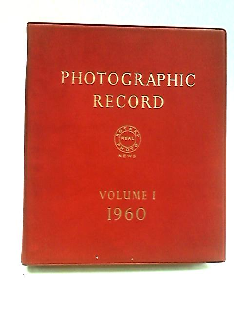 Photographic Record volume 1 1960 by Anon