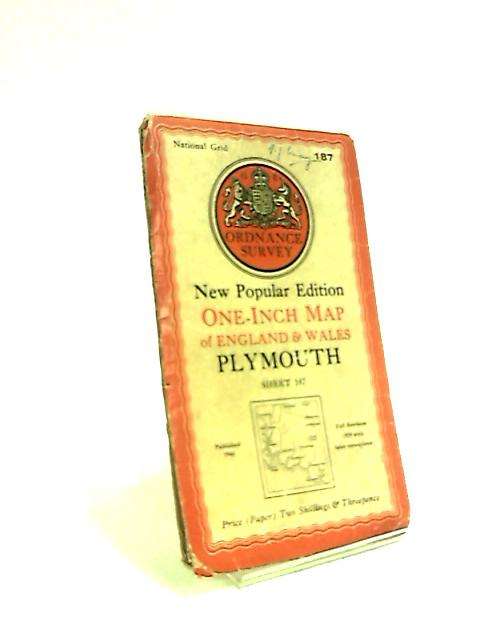One-inch Map of England and Wales. Plymouth. by Anon