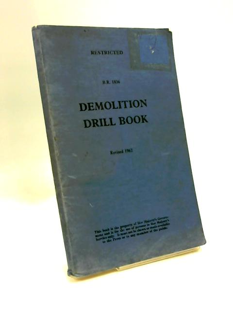 Demolition drill book 1962 by Anon.