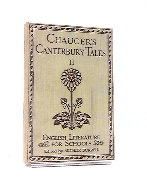 The Canterbury Tales Part II by Geoffrey Chaucer