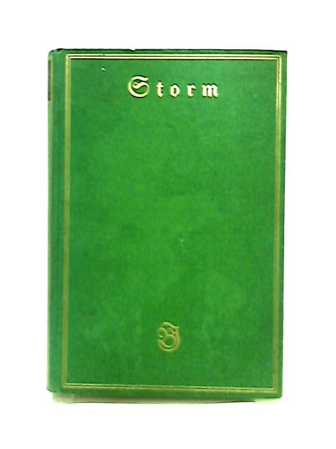 Storms Werke Dritter Band by Theodor Hertel