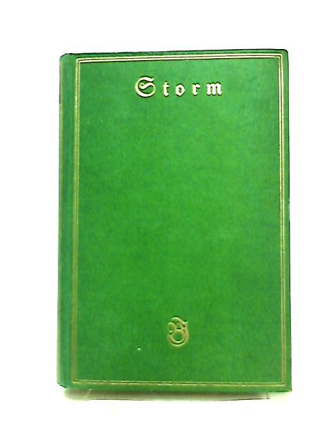 Storms Werke Vierter Band by Theodor Hertel