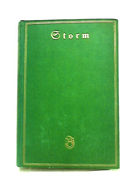Storms Werke Zweiter Band by Theodor Hertel