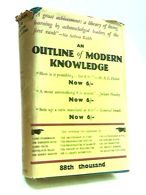 An Outline of Modern Knowledge by Rose, William,