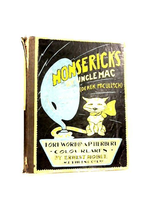 Nonsericks by Derek McCulloch