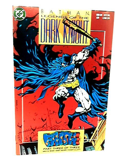 Batman Legends of the Dark Knight No 23 Faith Part 3 of 3 by Mike W. Barr