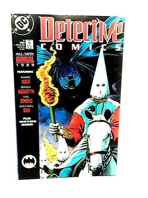 Detective Comics Annual #2 by Mark Waid et al