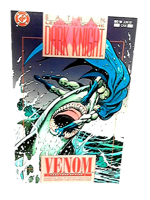 Batman Legends of the Dark Knight No 19 Venom Part 4 of 5 by Dennis O'Neil