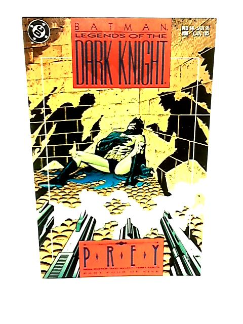 Batman Legends of the Dark Knight No 14 Prey Part 4 of 5 by Doug Moench