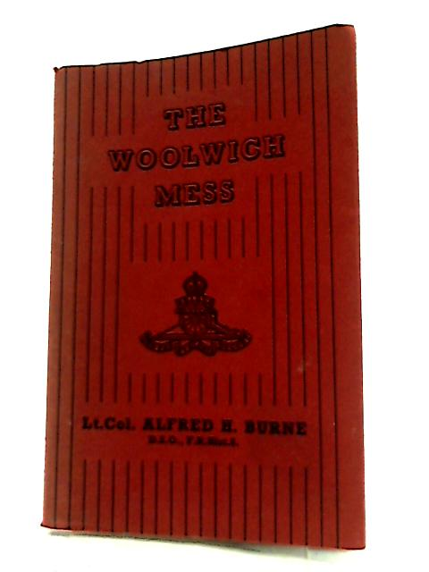 The Woolwich Mess By Alfred Higgins Burne