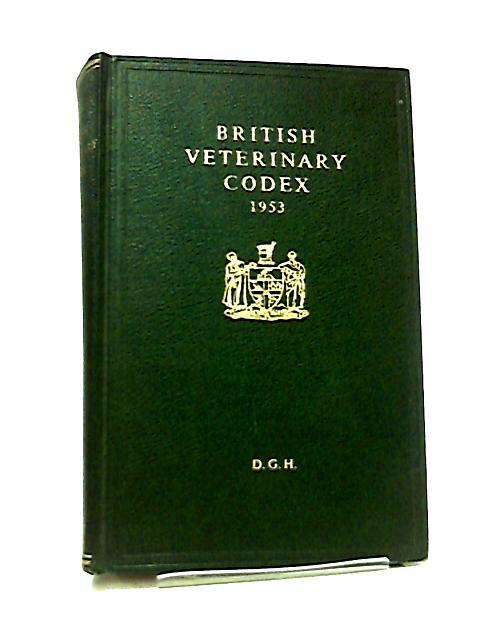 British Veterinary Codex 1953 by Various