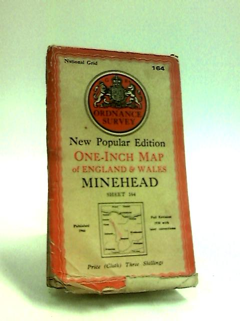 Ordnance Survey Map of Minehead, sheet 164 by Anon