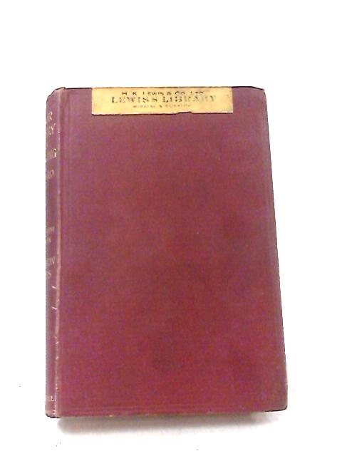 A Manual of Minor Surgery and Bandaging by H. Morriston Davies