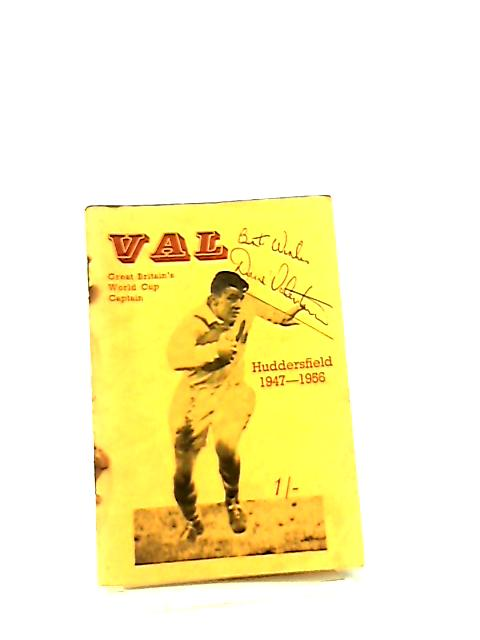 Val, The Football Career of Dave Valentine by A. N. Gaulton