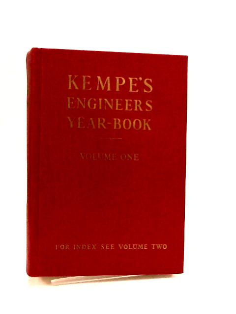 Kempe's Engineers Year-book Vol One for 1976 by C. E. Prockter