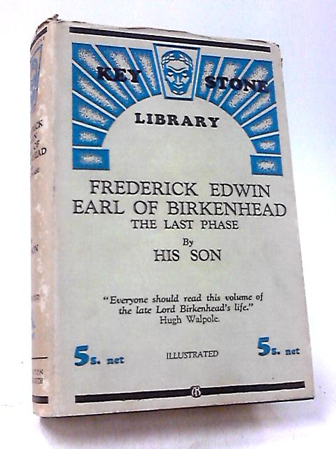 Frederick Edwin Earl of Birkenhead by Various