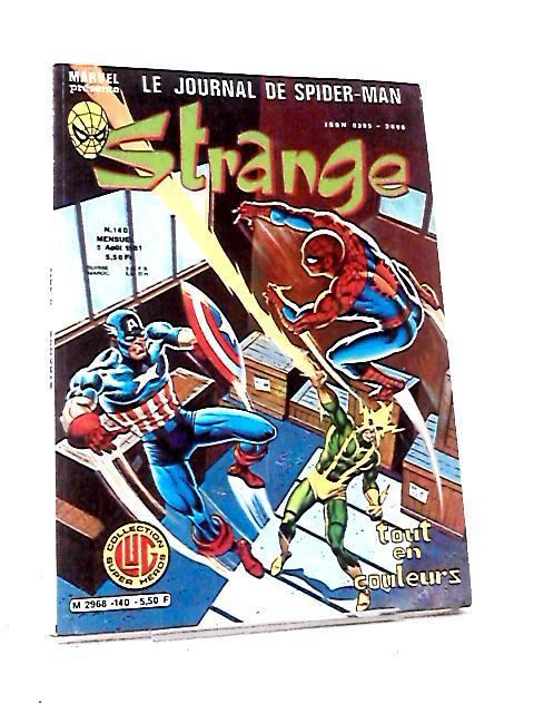 Le Journal de Spider-Man Strange Marvel #140 by Various
