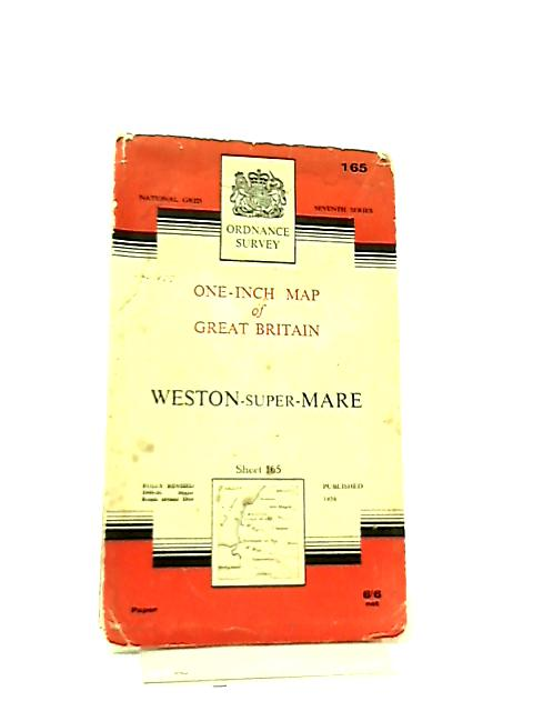 One-Inch Map of Great Britain Sheet 165 Weston Super Mare by Anon