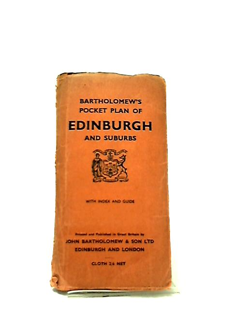 Bartholomew's Pocket Plan of Edinburgh and Suburbs by Anon