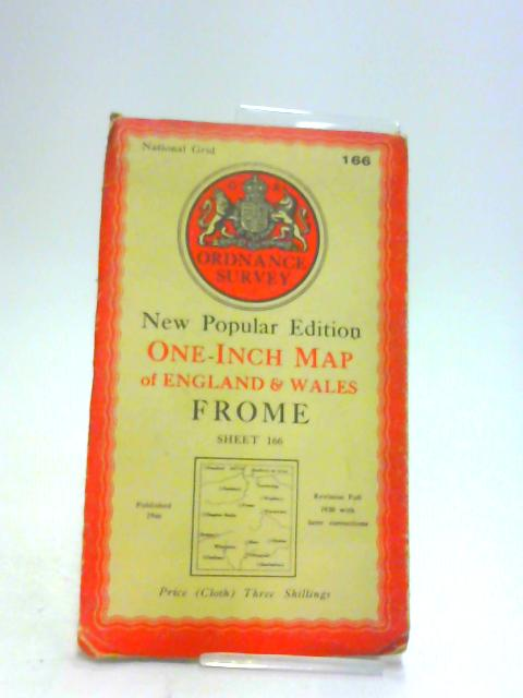 Ordnance Survey One Inch Map Frome Seventh Series sheet 166 by Unknown