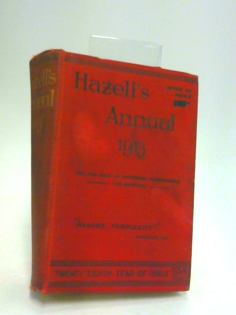 Hazells annual 1913 by Hammond hall (Ed)