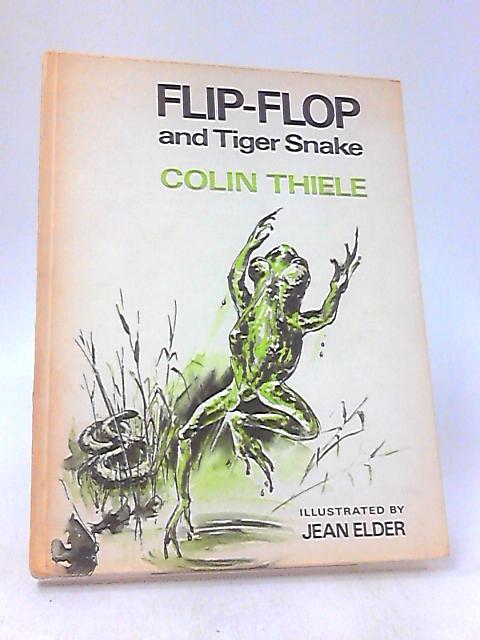 Flip-Flop And Tiger Snake by Jean Elder