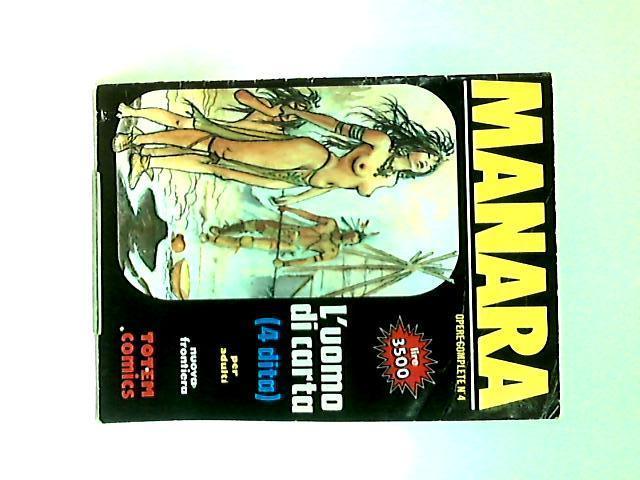 L'uomo di carta: Opere Complete No.4, 1992 By Manara, Milo
