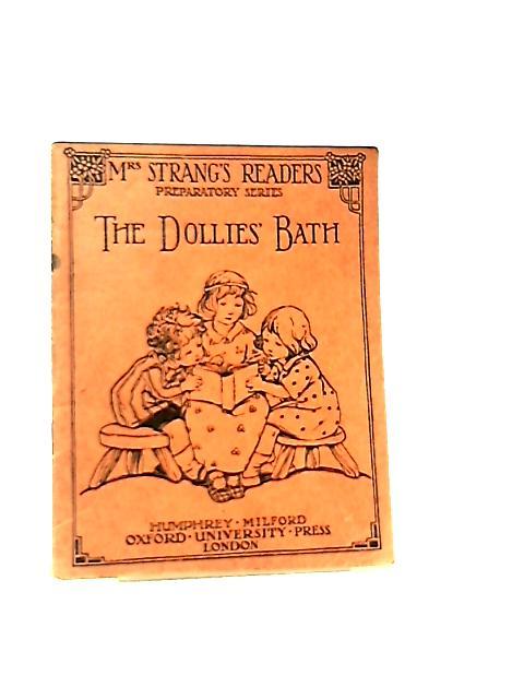 The Dollies' Bath By Mrs. Strang