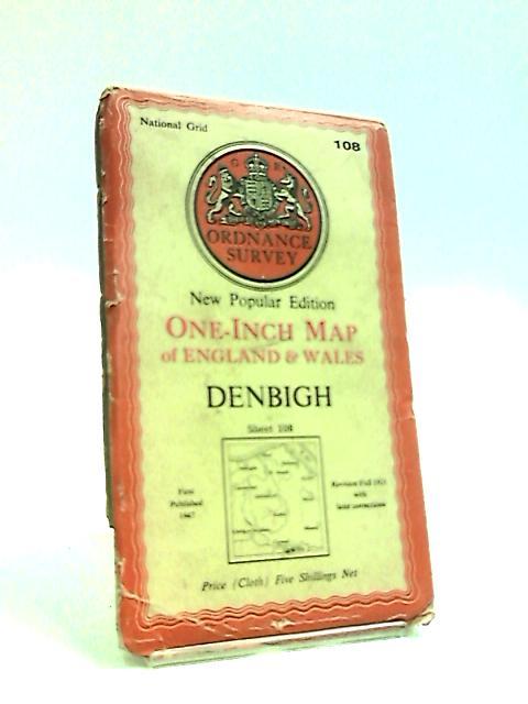 Ordnance Survey Map of Denbigh, sheet 108 by Anon
