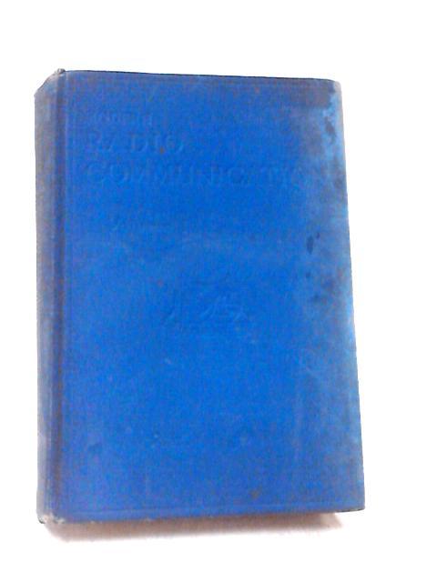 Modern Radio Communication Volume 1 By J. H. Reyner