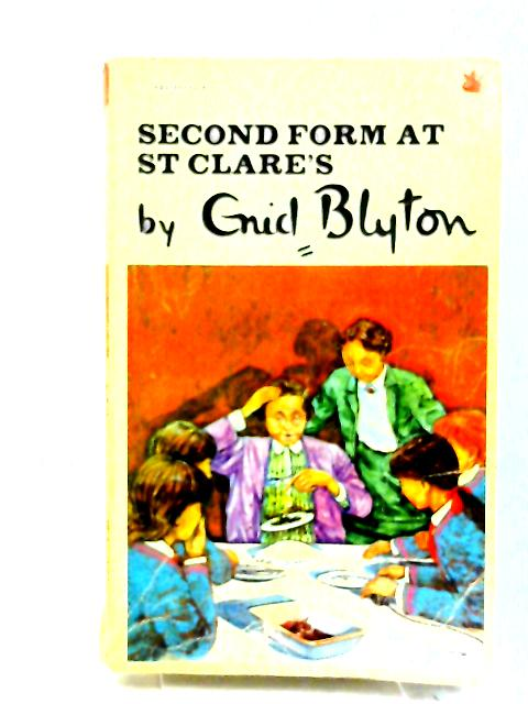 Second Form at St. Clare's by Blyton, Enid