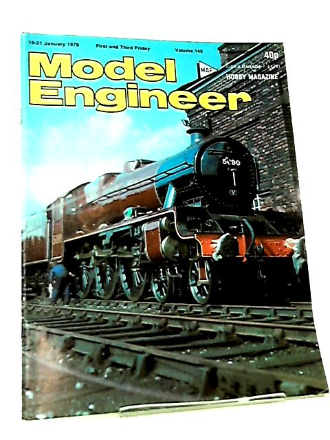Model Engineer Vol 145 No 3601 January 1979 By Various