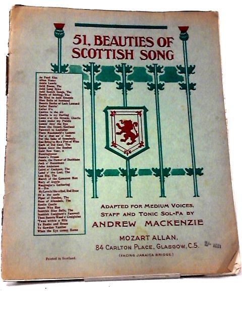 51, Beauties of Scottish Song by Andrew Mackenzie