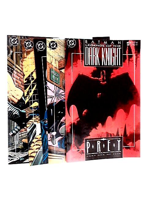 Batman: Prey - All 5 Parts by Moench, Doug