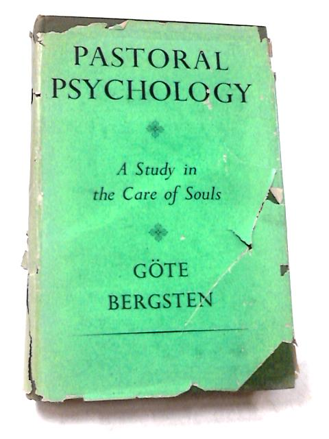 Pastoral Psychology By Gote Bergsten