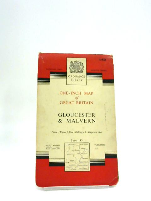 Ordnance Survey One Inch Map of Great Britain Gloucester & Malvern Sheet 143 by Unknown