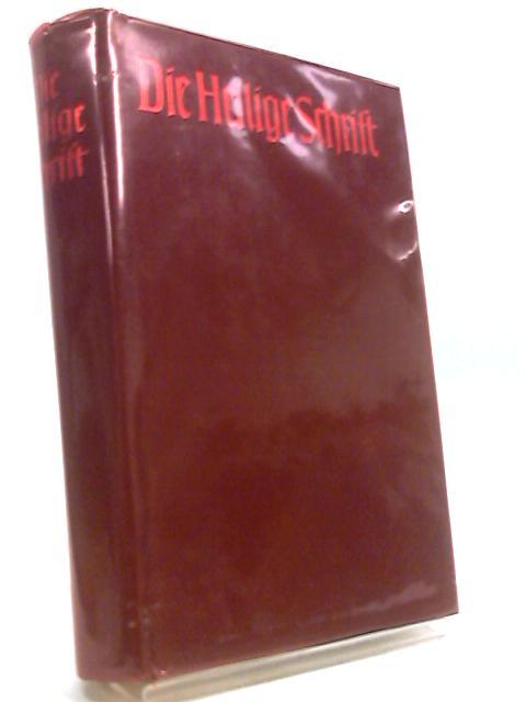 Die Bibel- Bible By Ohne Autor