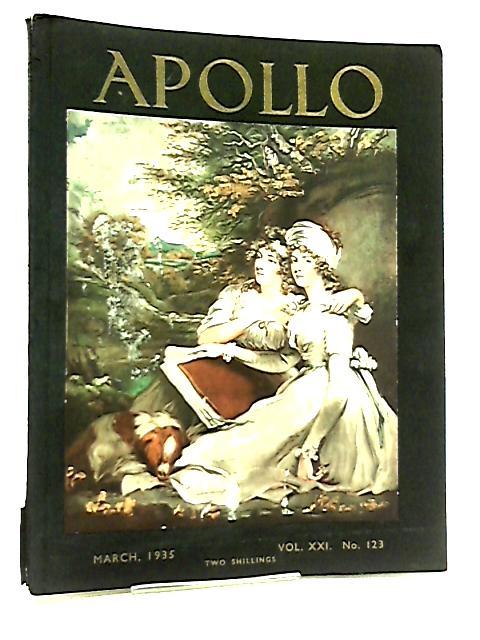 Apollo Volume XXI No. 123 March 1935 by Various