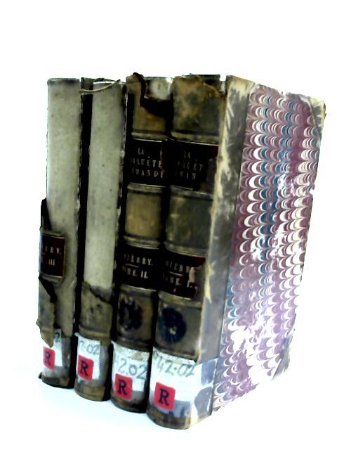 Histoire de la Conquete l Angleterre - 4 volume set by Augustin Thierry