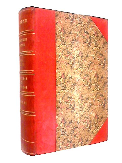 Parliamentary Debates 5th Series Volume 457 Session 1948-49 by Various