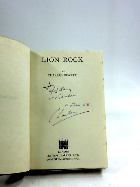 Lion Rock by Charles Beatty