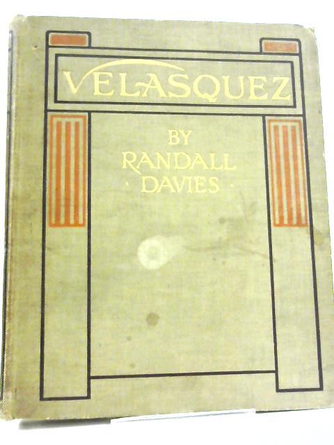 Velasquez. by Randall Davies