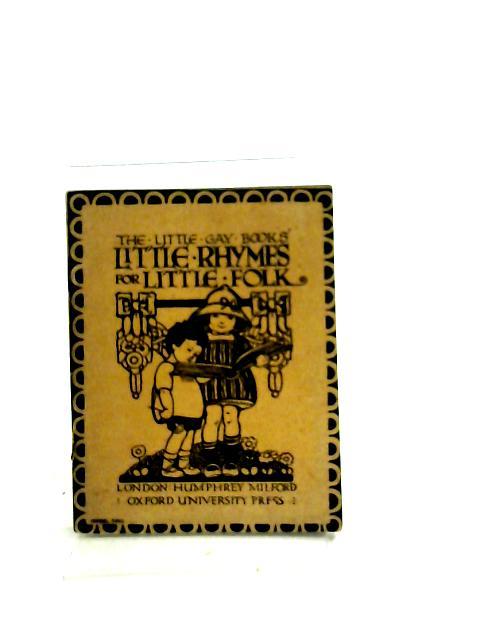 Little rhymes for little folk by Mrs. Herbert Strang