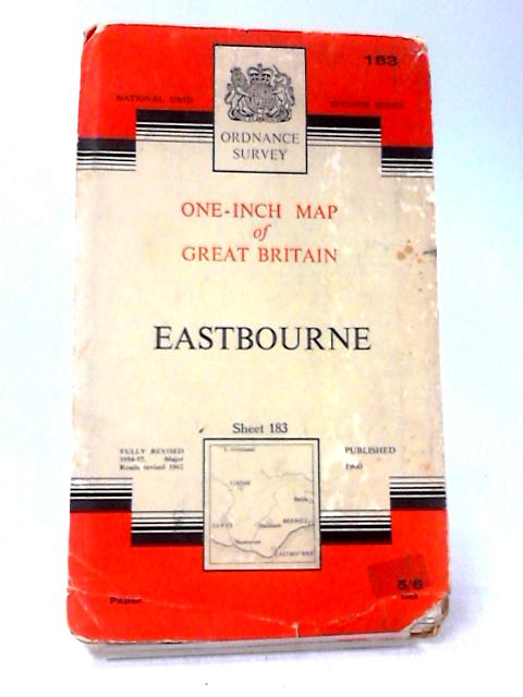 One-Inch Map of Eastbourne by Ordnance Survey
