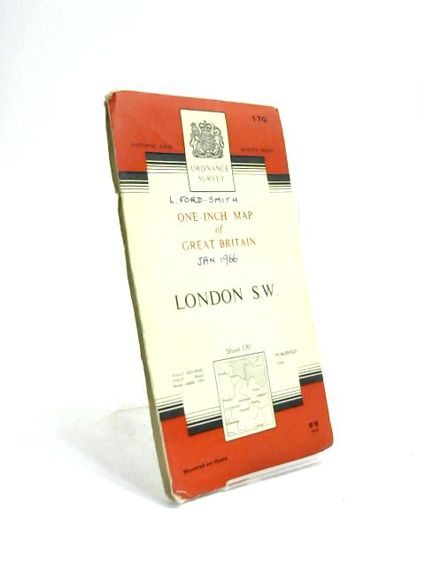 London S.W. One-inch Map of Great Britain Sheet 170. 1:63360 Seventh Series by Anon