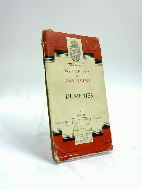 Ordnance Survey One-Inch Map Sheet 74 Dumfries by Anon