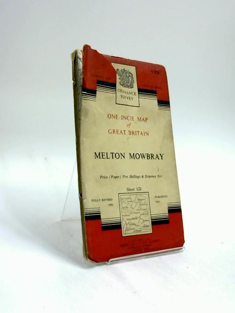 Melton Mowbray, Sheet 122, One-Inch Ordnance Survey Map by Anon