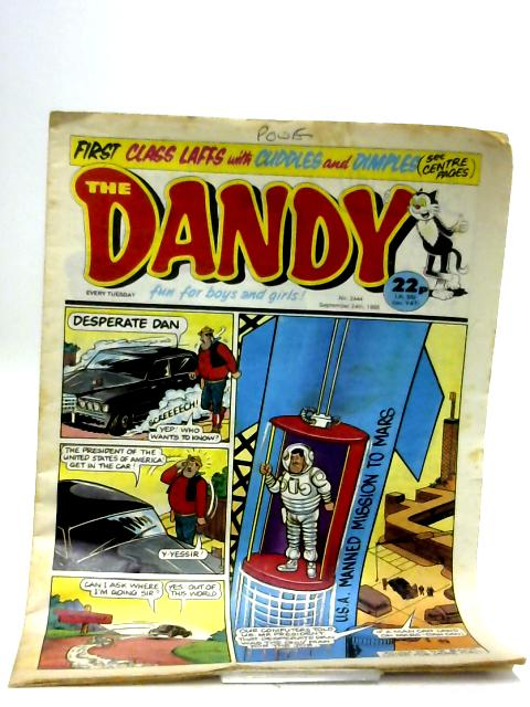 The Dandy No.2444 by Unknown